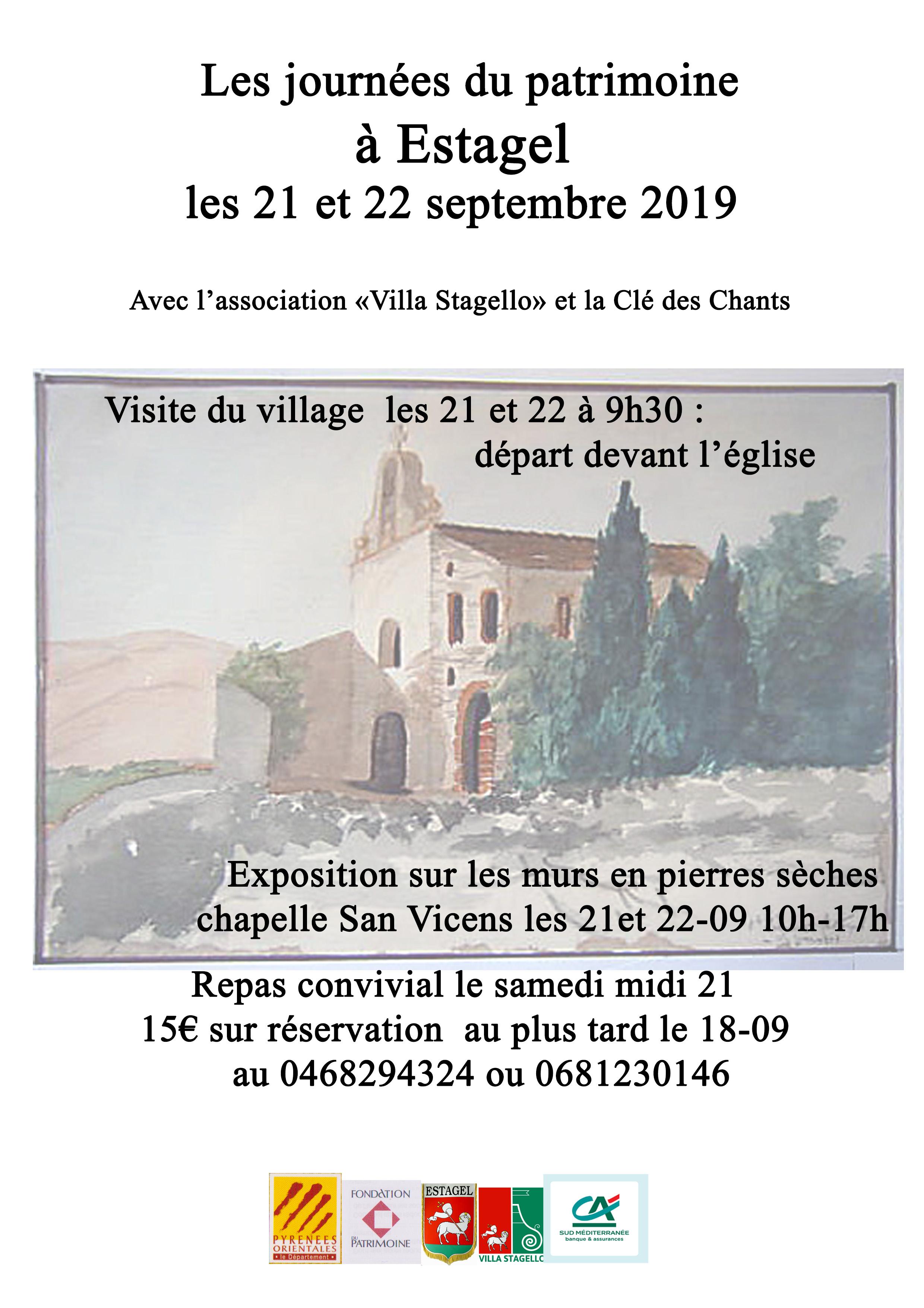 Les associations Villa Stagello et La Clé des Chants se regroupent pour organiser un repas convivial à l'aire San Vicens le 21 septembre 2019. 15€ réservation au plus tard le 18-09 au 0468294324 ou sur le site onglet contact